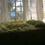 Living room window bed