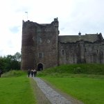 Doune Castle approach
