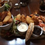 Amazing food! Had the seafood platter and although quite expensive it was totally worth it!