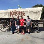 Fun day at Knott's Berry  Farm