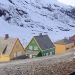 View from Myrdal train junction while waiting for Flam Railway to Flam.