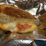 Grilled cheese with tomatoes