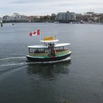 Foot ferries can be accessed in front of the Empress.