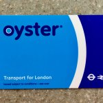 Oyster Card for London Transport (Credit Card Size)