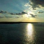 sunrise over Princess Cays