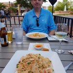 I have the peanut curry which was great , my wife the pineapple rice