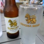 They have Thai beer as well , great.