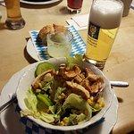 Salat mit Putenbruststreifen (3 von 5 Sternen)