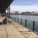 MUELLE RIO TINTO. Un lugar emblemático de la época minera de Huelva