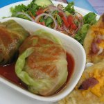 Homemade Perogies & Cabbage Rolls