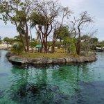 saltwater lagoon area