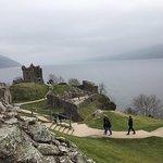 Lago Ness e Urqhuhart Castle História ao vivo