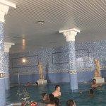 Fotos del buffet principal ..piscinas climatizadas disen!!!sin chorros y las maravilla de cortin