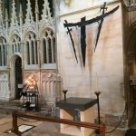 The spot where Archbishop Thomas Beckett was murdered in 1170.