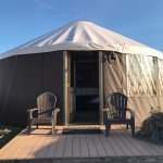 We stayed in both a yurt and a cliff house. They were both awesome!