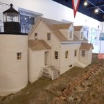 Model lighthouses throughout!