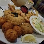 Chix on the Beach (Seafood Platter)