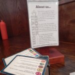 Love the Trivial Pursuit cards!