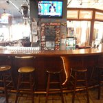 Ample seating at the bar