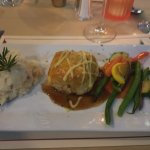 Chicken Zingera and Beef Wellington