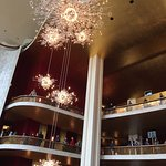 Some of The Met's Swarkowski Crystal Chandeliers