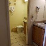 Partial view of bathroom in studio (1.5 bath)