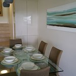 Dining room in Unit 2, our 3 bedroom fully self-contained apartment.