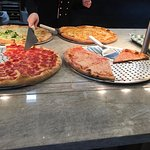 Ciccino's - pizza in display case