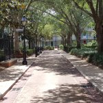 Walkway at French Quarters