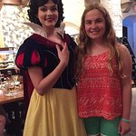 The Disney Princess Dining experience! And they were ALL there - everyone got on board with this