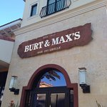 The entrance to Burt and Max's in the Delray Marketplace