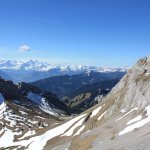 View from the top of Mt. Pilatus.