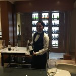 Zury and Omar in the club lounge has given us extra ordinary service.  Omar had our drink ready