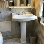 Useless Pedestal Sink