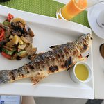 very good grilled sea bass!