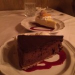 Chocolate Hazelnut Torte & Lemon Cheesecake