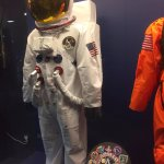 One of the space suits exhibits