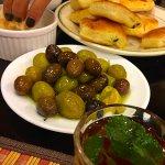 Olives & Karak tea