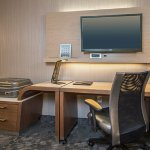 Your Guest Room at Courtyard by Marriott Ardmore features a work desk.