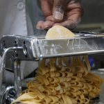 Fresh hand-rolled pasta made daily