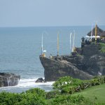 Tanah Lot. View from Pab Pacific Hotel