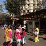 At the entrance of Shree Siddhivinayak