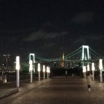 Has incredible view of the Rainbow Bridge of Tokyo