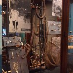 One of many of the exhibits, this dealing with fishing, note the fishing hooks