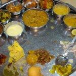 Good Rajasthani thali
