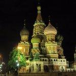 St Basil by night