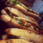 Les fameux sandwitch gourmet  Chèvre Touraine et Reblochon savoyard