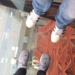 Loved the glass floor .