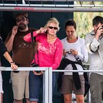 Clients out on the boat safari st lucia south africa