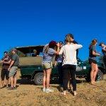 Having fun on safari